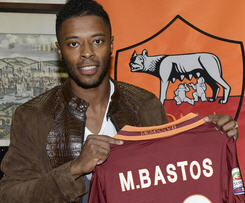 Serie A contenders Roma have signed Michel Bastos on loan from UAE Arabian Gulf League club Al Ain.