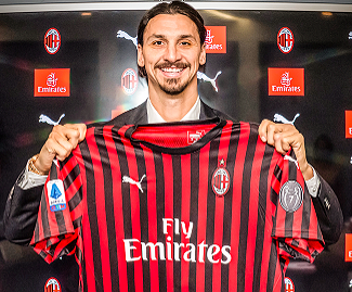 Zlatan Ibrahimovic has rejoined AC Milan after eight years away from the club.