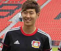 Bayer 04 Leverkusen have completed the signing of South Korean international striker Heung Min Son from Hamburger SV.
