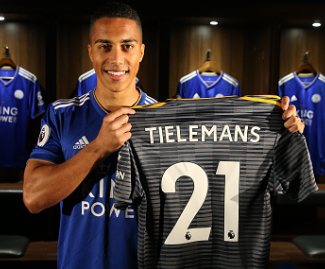 Leicester have completed the loan signing of Youri Tielemans from Monaco until the end of the season, with Adrien Silva moving in the other direction, also on loan to Monaco until the end of the season.