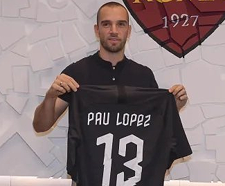 Roma have announced the signing of Spanish goalkeeper Pau Lopez from Real Betis, for a fee of €23.5 million.