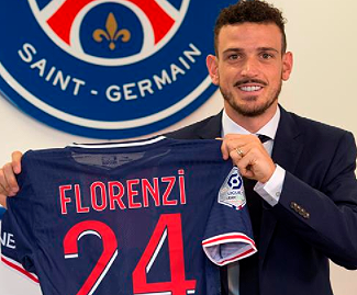 Paris Saint-Germain have completed the signing of Alessandro Florenzi from Roma, with the defender arriving on a loan deal with an option to buy.