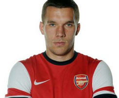 Arsenal sign Lukas Podolski for undisclosed fee.