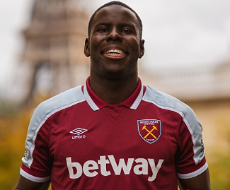 West Ham have completed the £29.8m signing of Kurt Zouma from Chelsea on a four-year deal.