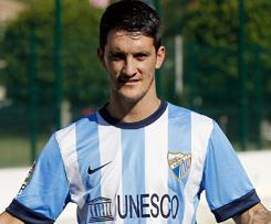 Liverpool midfielder Luis Alberto has joined Malaga on a season-long loan.