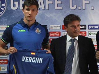 Sunderland defender Santiago Vergini has joined the Spanish side Getafe on a season-long loan deal with a view to a permanent move.