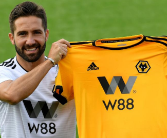 Premier League newcomers Wolves have signed Portugal midfielder Joao Moutinho from Monaco for £5m on a two-year deal.