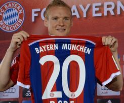 Bayern Munich signed Frankfurt midfielder Sebastian Rode.
