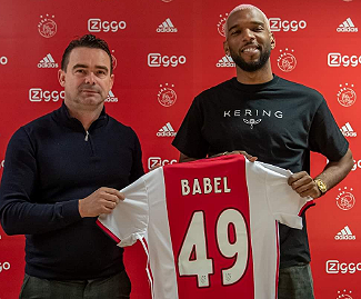 Dutch champions Ajax have signed Ryan Babel on loan from Galatasaray until the end of the season.