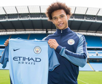 Germany midfielder Leroy Sane has completed his move to Manchester City for a fee of £37m plus add-ons.