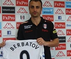 Fulham pulled off a coup with one day remaining in the transfer window as Dimitar Berbatov joined from Manchester United for £5m.