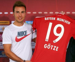 Mario Gotze joins Pep Guardiola at Bayern Munich, becoming the most expansive German player of all time after signing from Borussia Dortmund