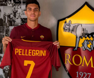 Roma have splashed out €10million to bring Lorenzo Pellegrini back to the Stadio Olimpico from Sassuolo.