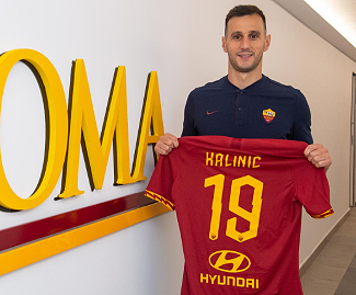 Nikola Kalinic has officially joined Roma, on loan with option to buy from Atletico Madrid for a total of €11m.